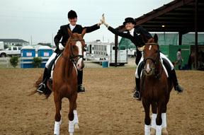 Awards2006_Rider-High-Fives