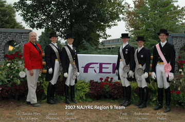 Awards2007_NAJYRC-Team