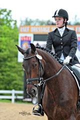 Awards2009_Julia-at-USEF-Dressage-Seat-Equitation-Medal-Finals-2009