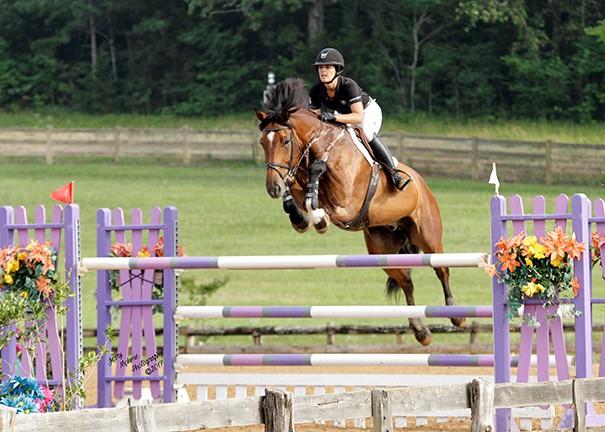 Kristi jumping Leo